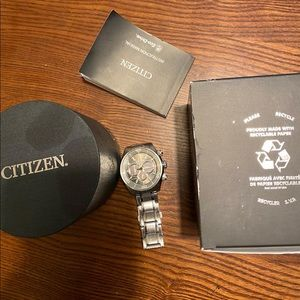 Citizen eco driver chronograph